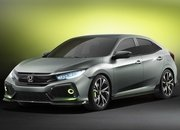 2016 Honda Civic Hatchback Prototype - image 667972