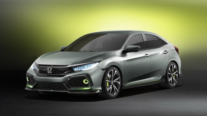 2016 Honda Civic Hatchback Prototype High Resolution Exterior - image 667972