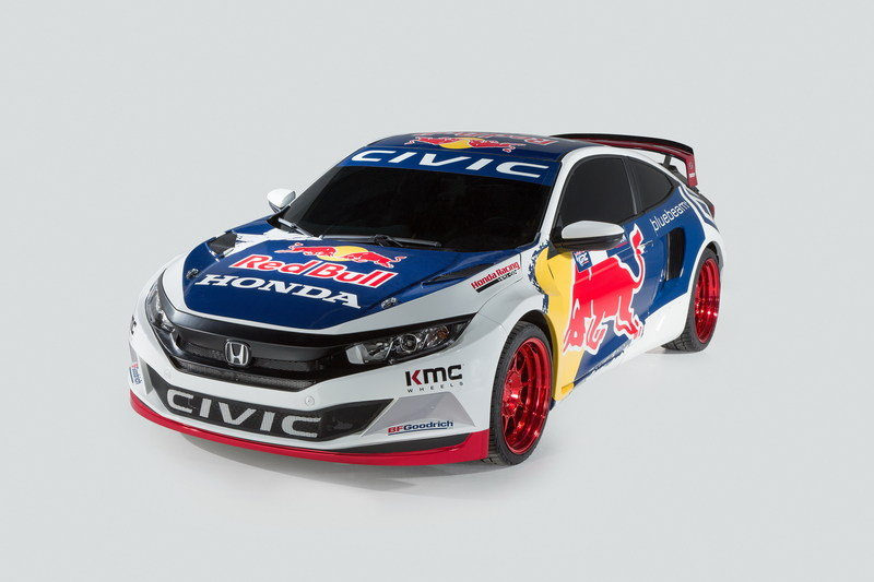 2016 Honda Civic Red Bull GRC