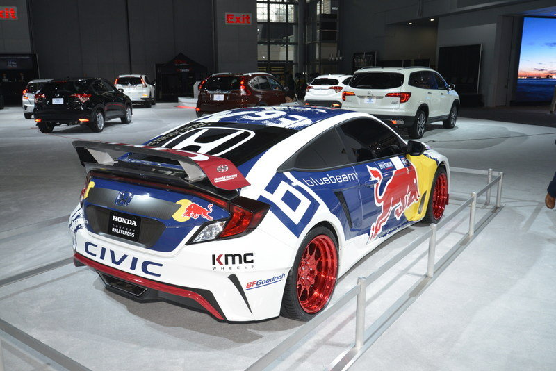 2016 Honda Civic Red Bull GRC High Resolution Exterior AutoShow - image 670788