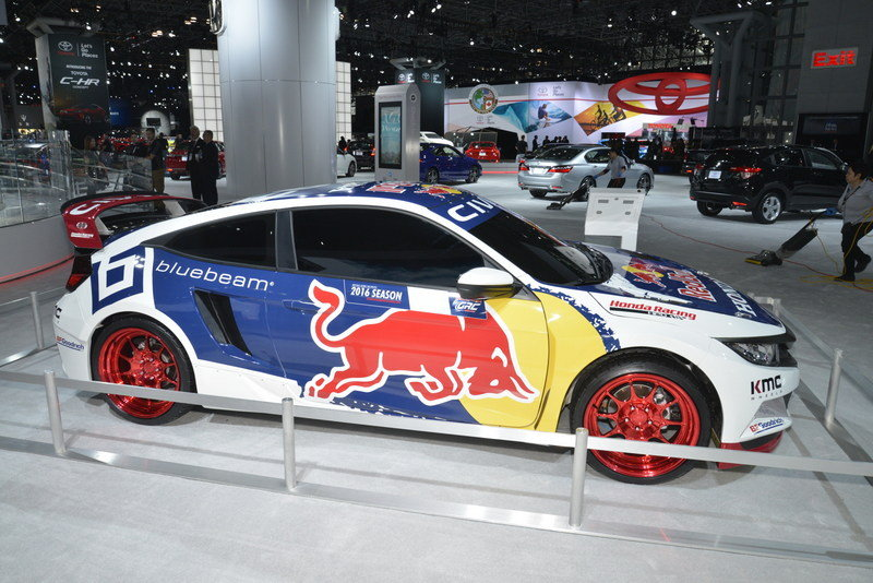 2016 Honda Civic Red Bull GRC High Resolution Exterior AutoShow - image 670790