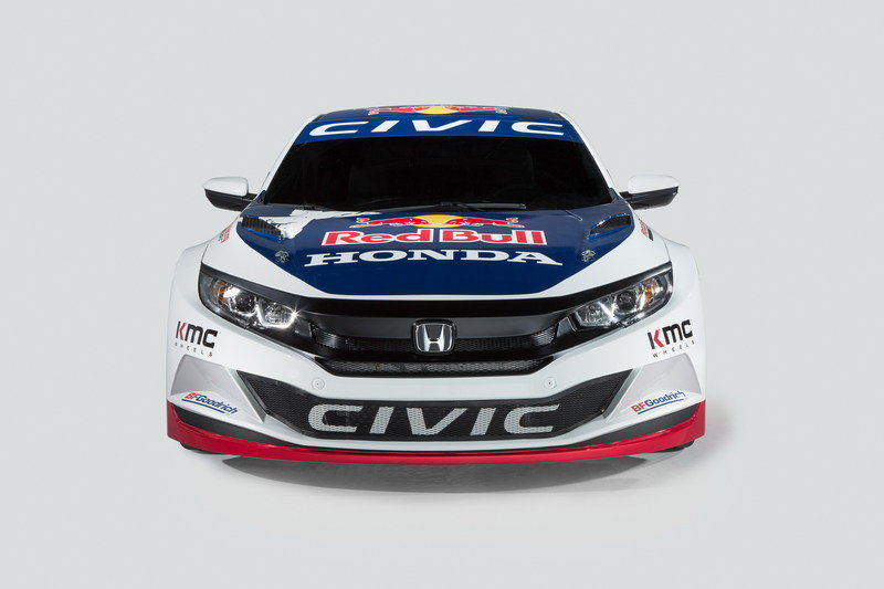 2016 Honda Civic Red Bull GRC High Resolution Exterior - image 670204