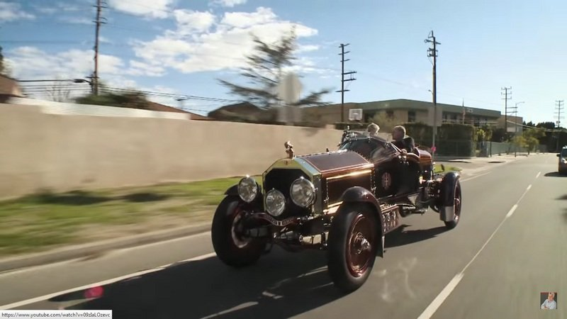 Jay Leno Has Some Fun With A Custom-Built 1915 LaBestioni Rusty Two: Video