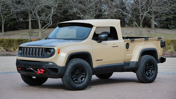 2016 Jeep Truck >> 2016 Jeep Comanche Concept Review Top Speed