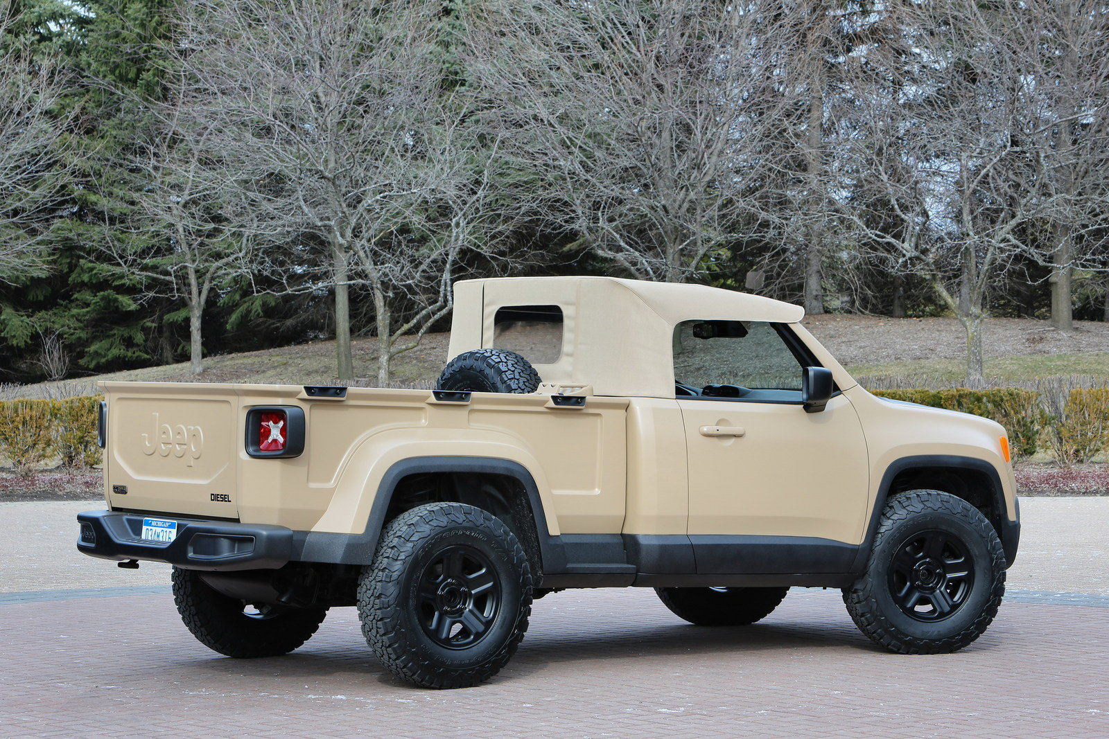2016 Jeep Comanche Concept Picture 669127 Truck Review