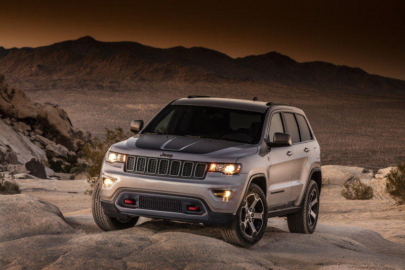 2017 Jeep Grand Cherokee Trailhawk High Resolution Exterior - image 670622