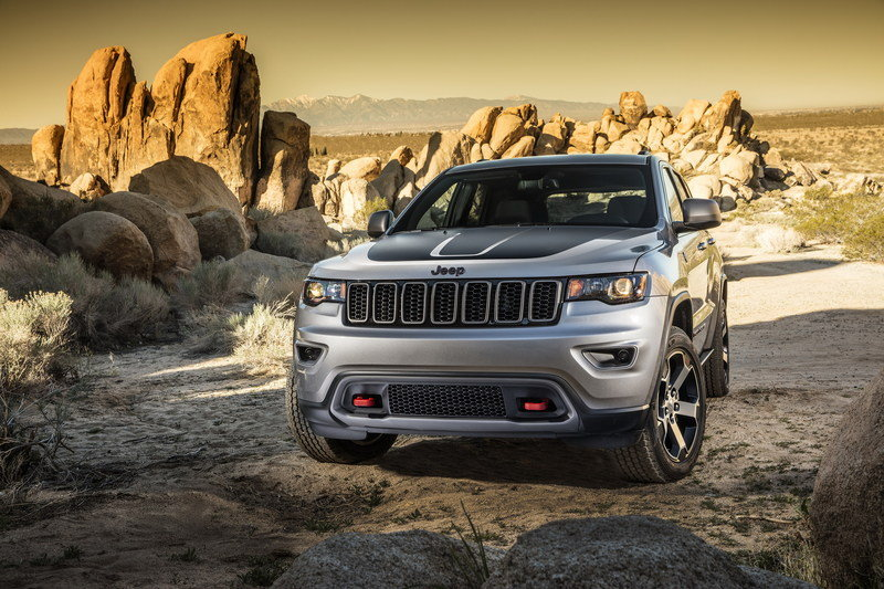 2017 Jeep Grand Cherokee Trailhawk High Resolution Exterior - image 670613