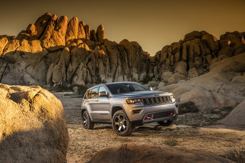 2017 Jeep Grand Cherokee Trailhawk High Resolution Exterior - image 670607