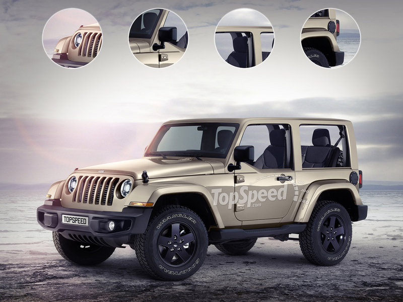 2018 Jeep Wrangler Exterior Exclusive Renderings Computer Renderings and Photoshop - image 669920