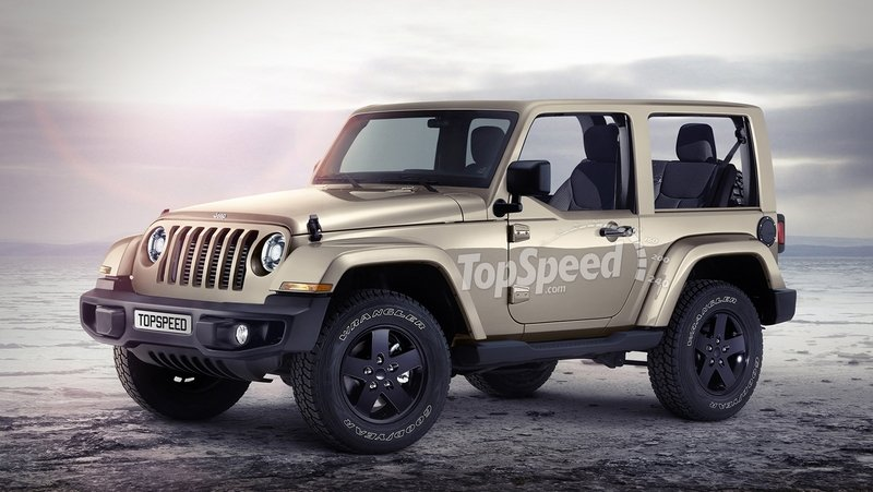2018 Jeep Wrangler Exterior Exclusive Renderings Computer Renderings and Photoshop - image 669921