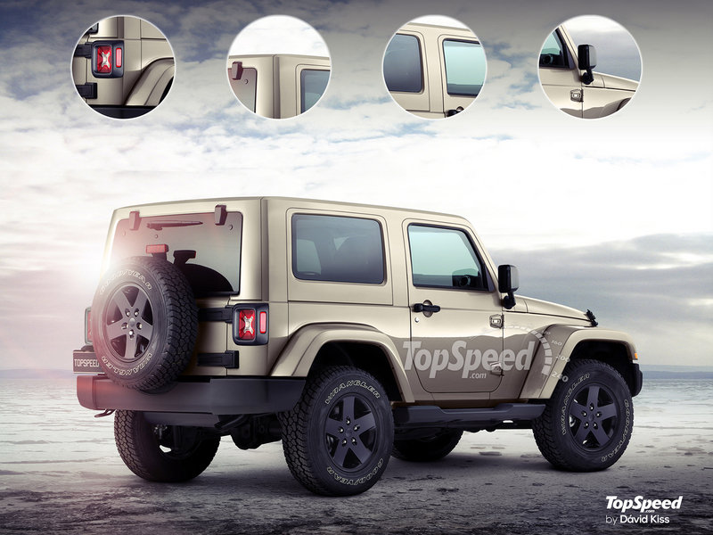 2018 Jeep Wrangler Exterior Exclusive Renderings Computer Renderings and Photoshop - image 669919