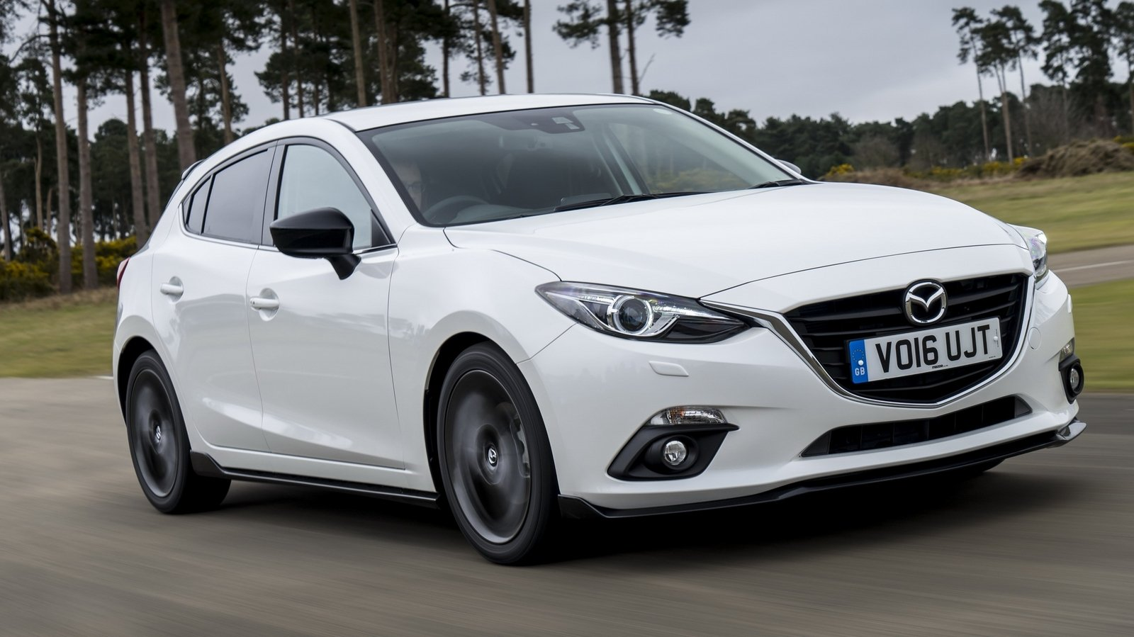 2016 mazda3 sport black special edition review - top speed