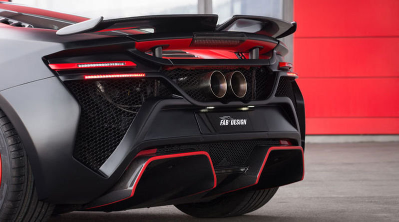 2016 McLaren 650S Vayu GTR Coupe by FAB Design High Resolution Exterior - image 668779