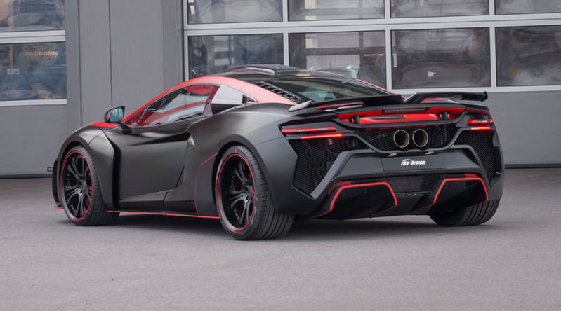 2016 McLaren 650S Vayu GTR Coupe by FAB Design High Resolution Exterior - image 668782