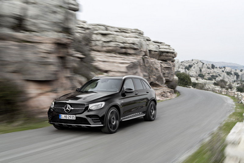 2017 Mercedes-AMG GLC43 4MATIC High Resolution Exterior - image 669816
