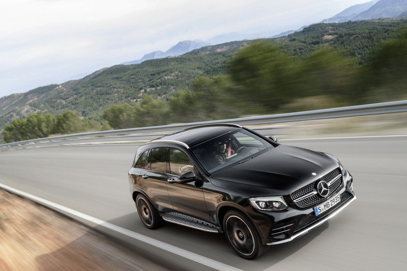 2017 Mercedes-AMG GLC43 4MATIC High Resolution Exterior - image 669818