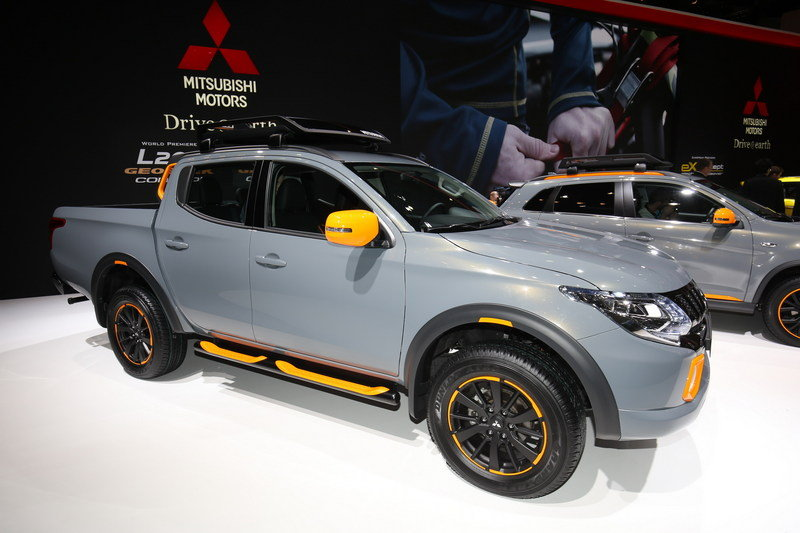 2016 Mitsubishi L200 Geoseek Concept High Resolution Exterior AutoShow - image 668210
