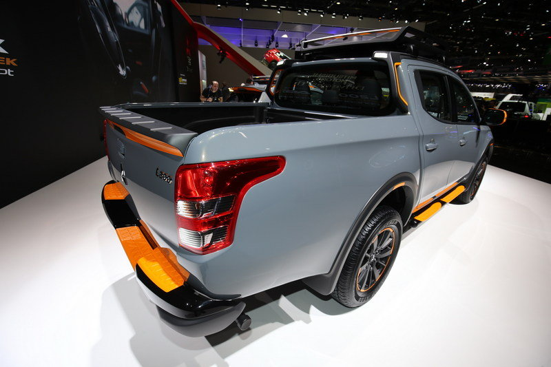 2016 Mitsubishi L200 Geoseek Concept High Resolution Exterior AutoShow - image 668211