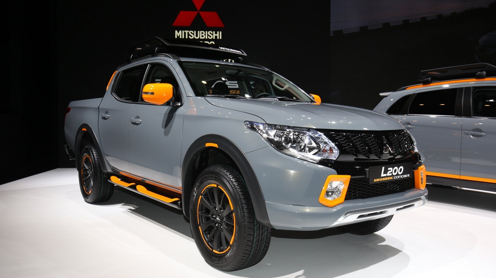 2016 mitsubishi l200 geoseek concept review top speed. Black Bedroom Furniture Sets. Home Design Ideas