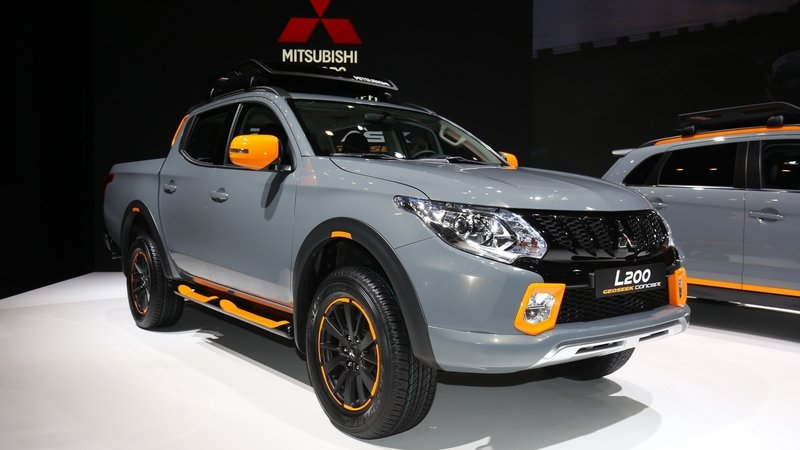 2016 Mitsubishi L200 Geoseek Concept Review Top Speed