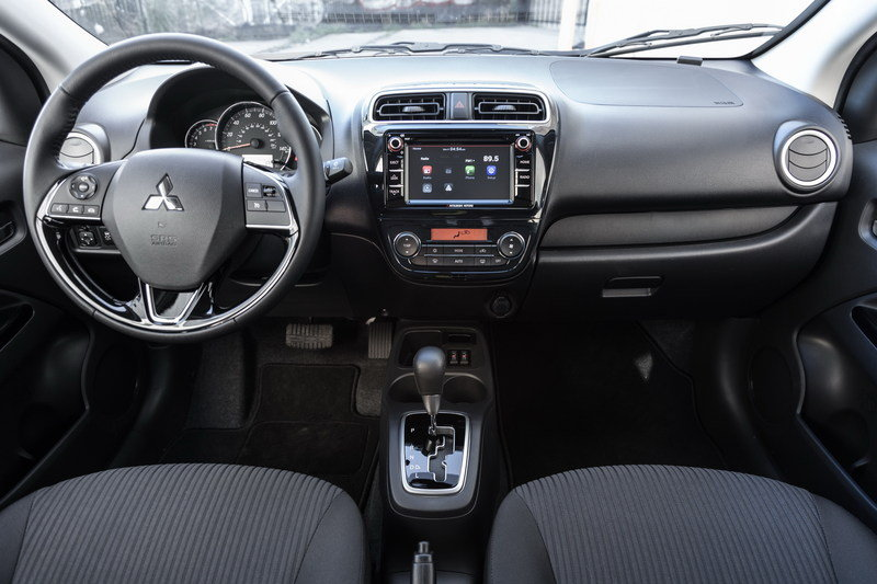 2017 Mitsubishi Mirage G4 High Resolution Interior - image 670643
