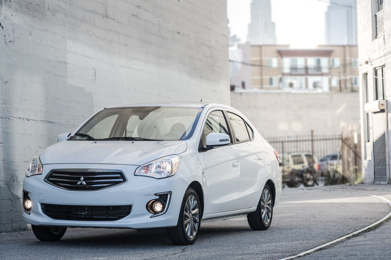 2017 Mitsubishi Mirage G4 High Resolution Exterior - image 670650