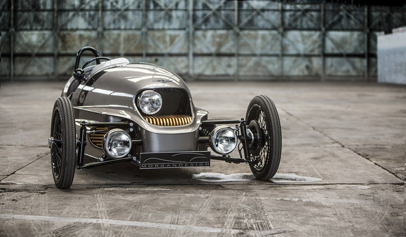 Morgan's Electric 3-Wheeler to Go into Production in 2018
