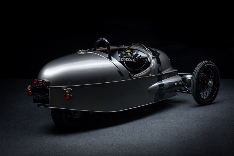 Morgan's Electric 3-Wheeler to Go into Production in 2018 High Resolution Exterior - image 667983