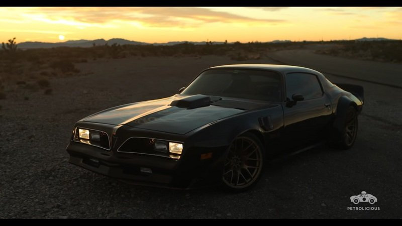 Pontiac Firebird Trans-Am Gets The Spotlight: Video