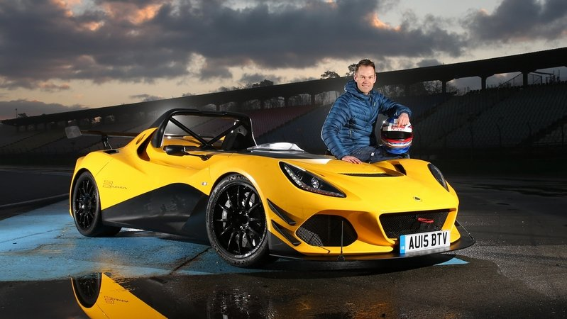Sports Auto Sets Hockenheimring Lap Record With A Lotus 3-Eleven