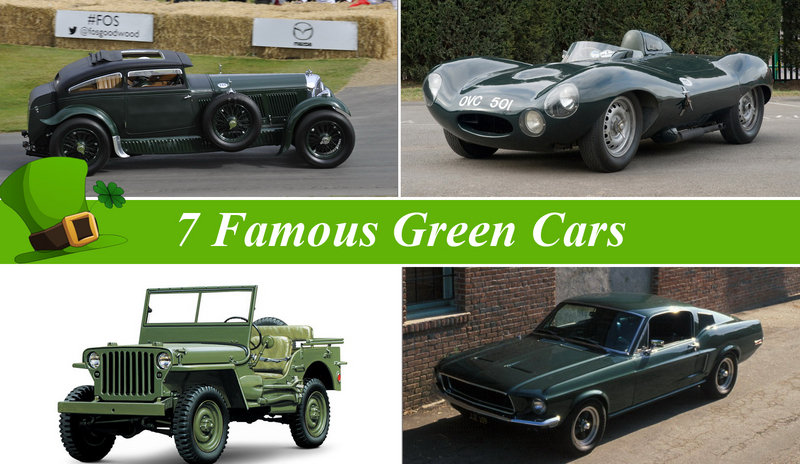 Saint Patrick's Day Special: 7 Famous Green Cars