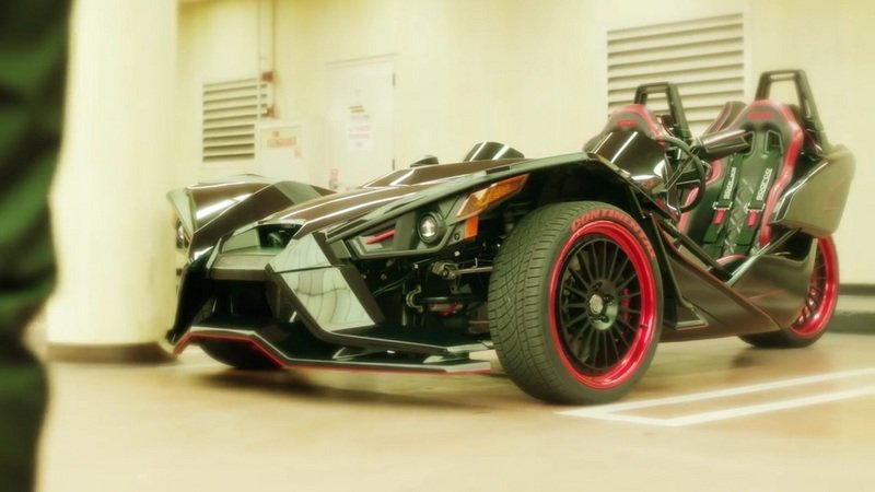 Tanner Foust Tears Up The Streets of San Diego With a Modified 2015 Slingshot SL: Video