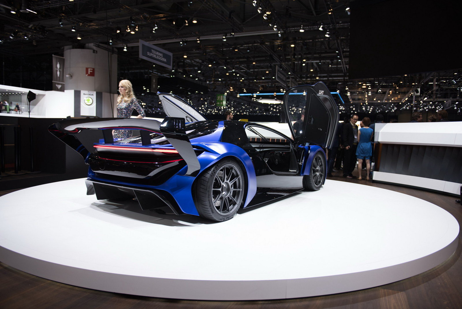 2016 Techrules At96 Trev Supercar Concept: 2016 Techrules AT96 TREV - Picture 668541