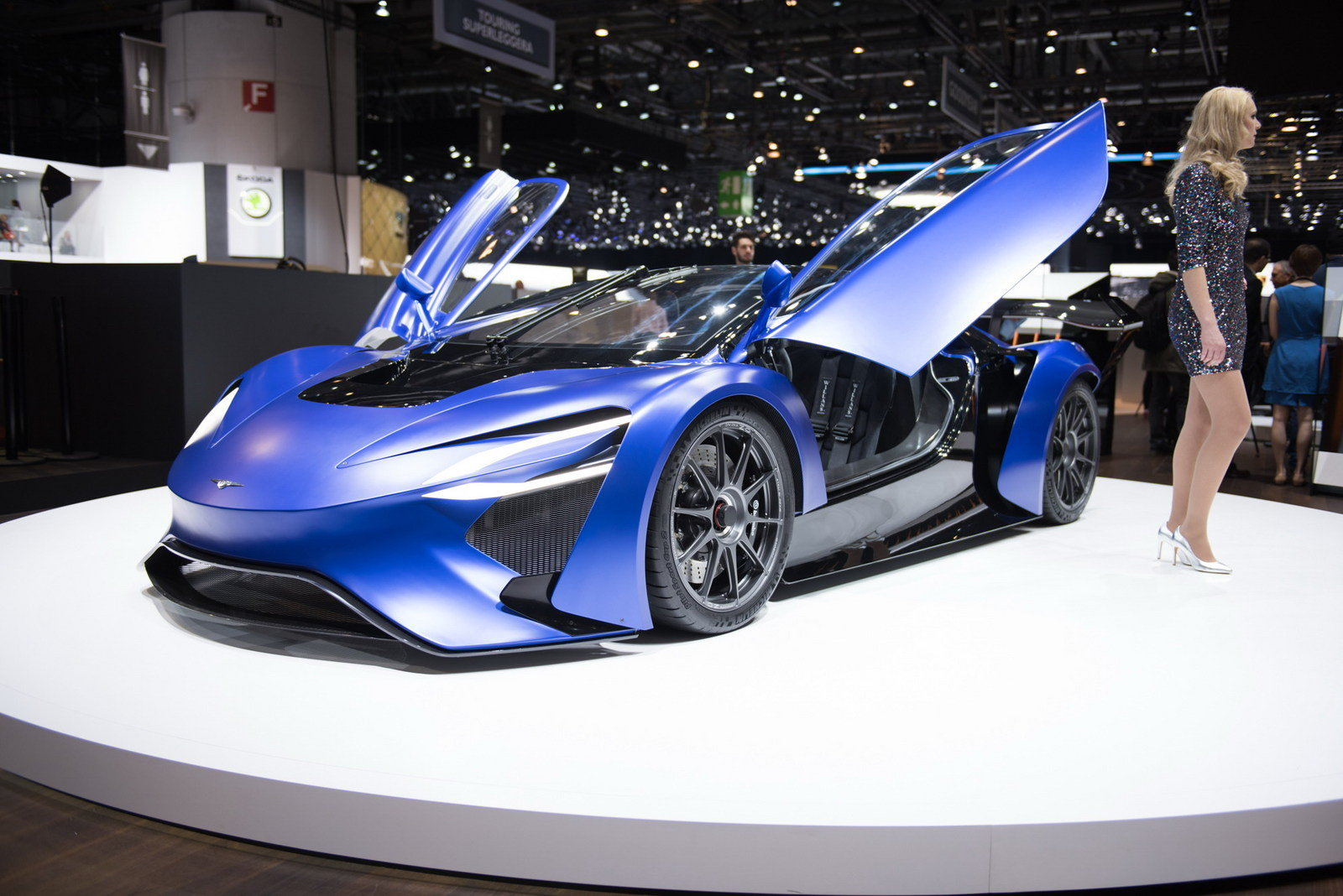 2016 Techrules At96 Trev Supercar Concept: 2016 Techrules AT96 TREV - Picture 668532