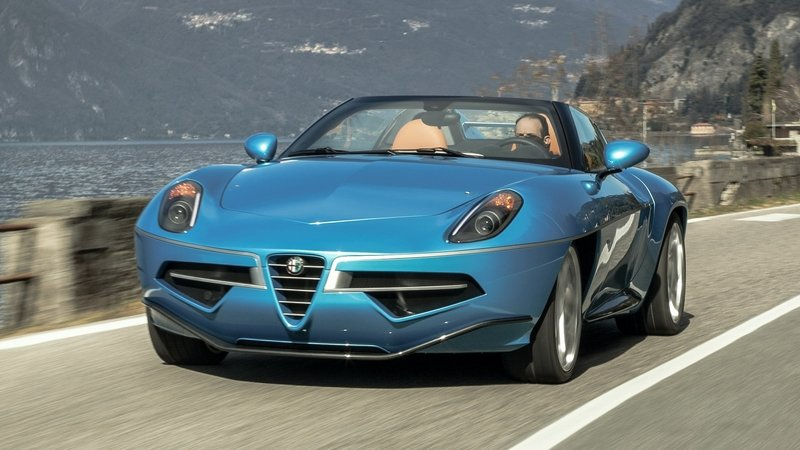 2016 Touring Superleggera Disco Volante Spyder