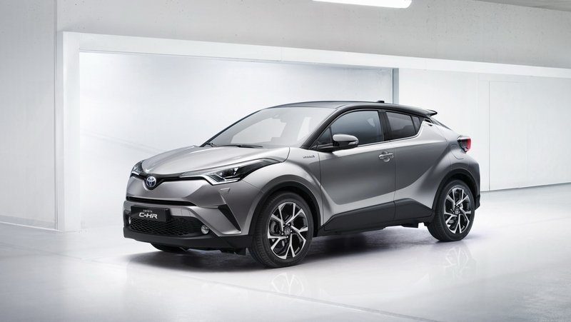 2018 Toyota C-HR High Resolution Exterior - image 667809
