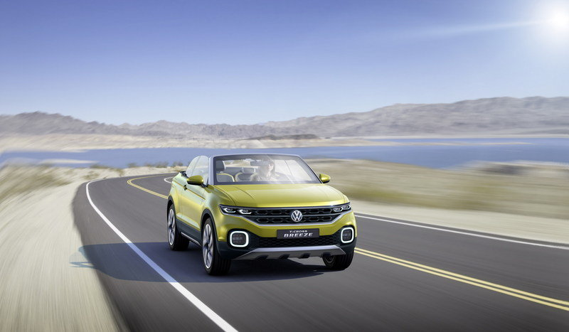 2016 Volkswagen T-Cross Breeze Concept High Resolution Exterior - image 667824