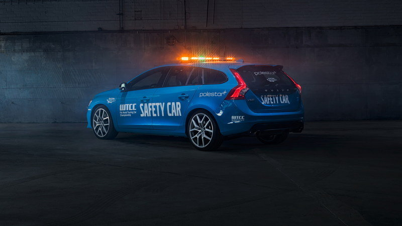 Volvo V60 Polestar Is The New WTCC Safety Car High Resolution Exterior - image 671034
