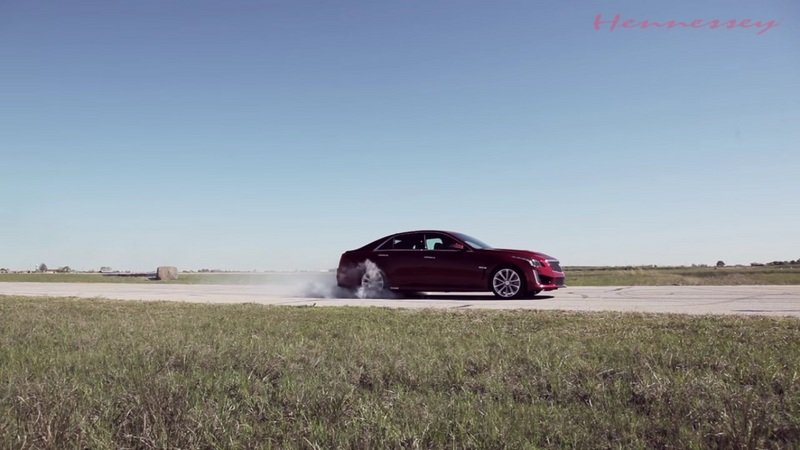 Watch The 2016 Cadillac CTS-V HPE750 In Action: Video