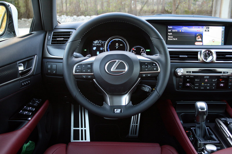 2016 Lexus GS 450h F Sport – Driven High Resolution Interior - image 672281