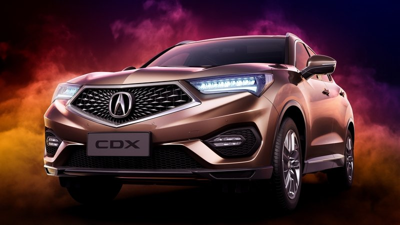 2017 Acura CDX Design, Release Date - 2017 / 2018 Compact SUV