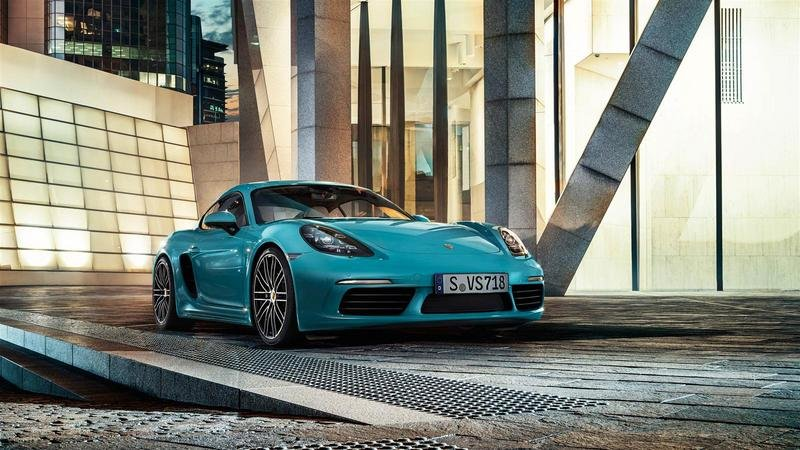 2017 Porsche 718 Cayman High Resolution Exterior - image 673766