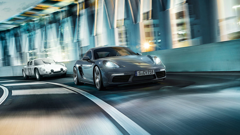 The Next-Gen Porsche 718 EV Could Be More Powerful than the Current Cayman GTS; Should Arrive in 2023 High Resolution Exterior - image 673767