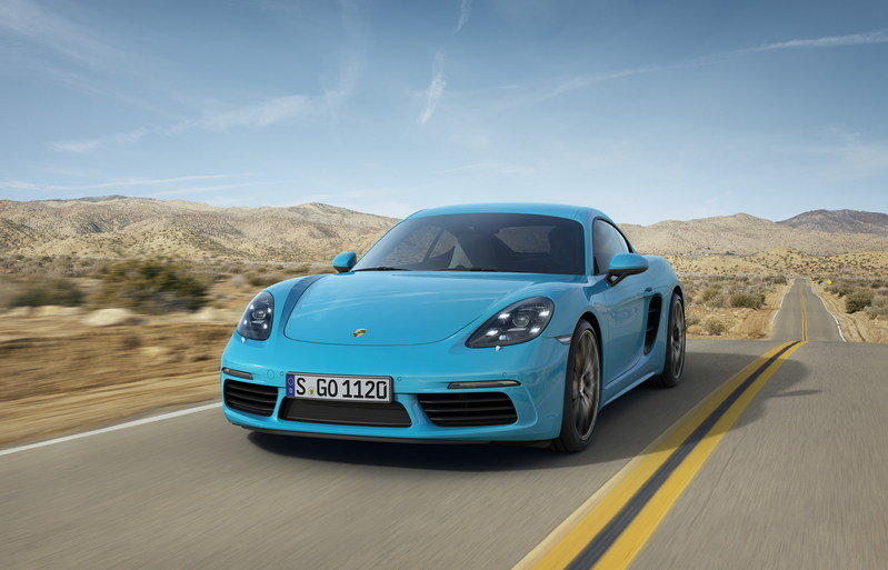 2017 Porsche 718 Cayman High Resolution Exterior Wallpaper quality - image 673776