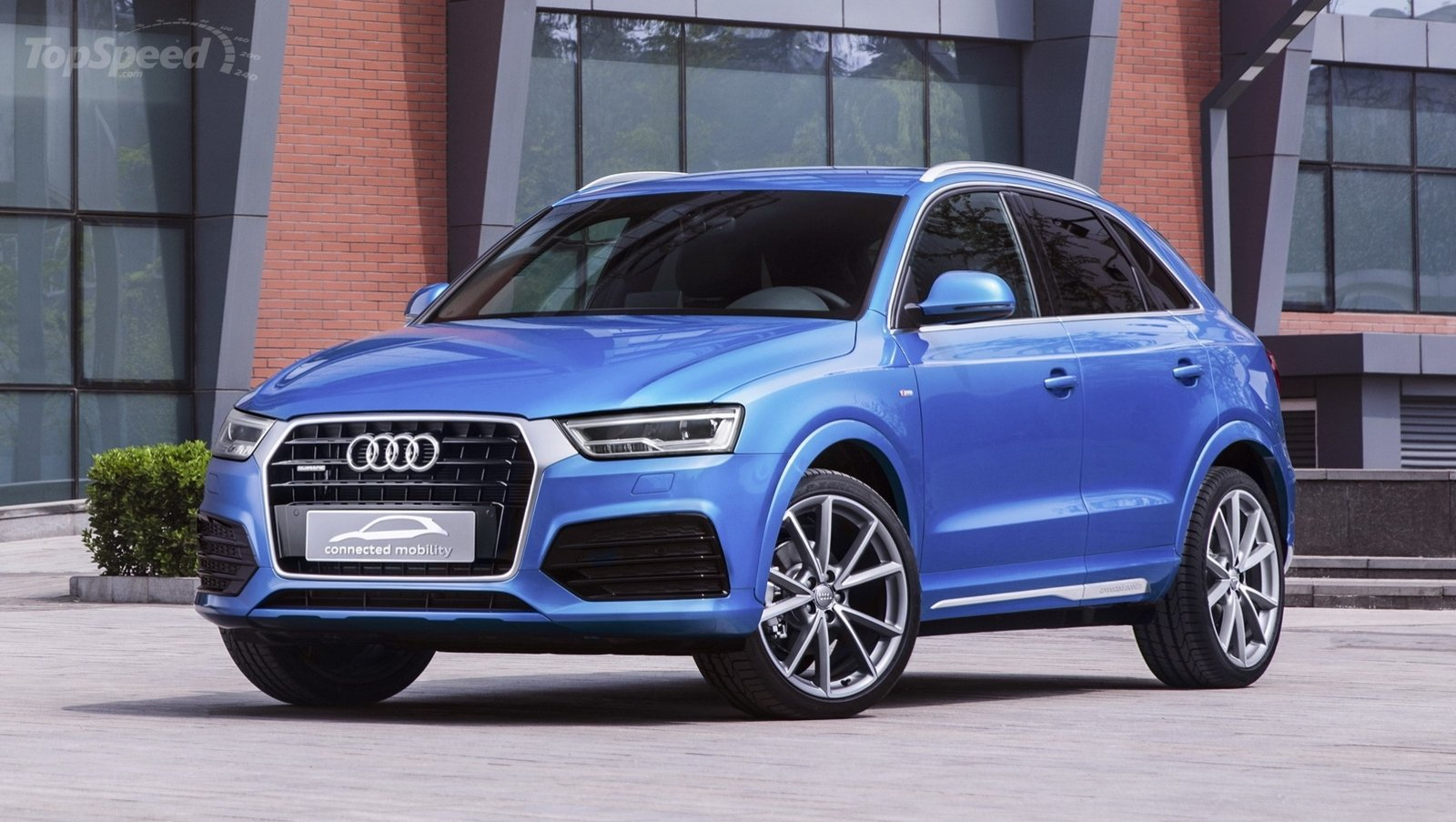 2016 audi q3 connected mobility concept review top speed. Black Bedroom Furniture Sets. Home Design Ideas