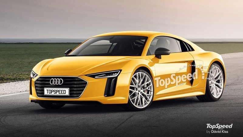 2019 Audi R6 Exterior Exclusive Renderings Computer Renderings and Photoshop - image 674286