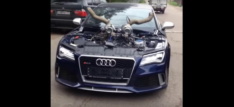 Audi RS7 Gets Massive Stage 10 Engine Upgrade: Video