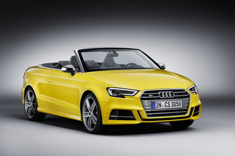 2017 Audi S3 Cabriolet High Resolution Exterior - image 671877