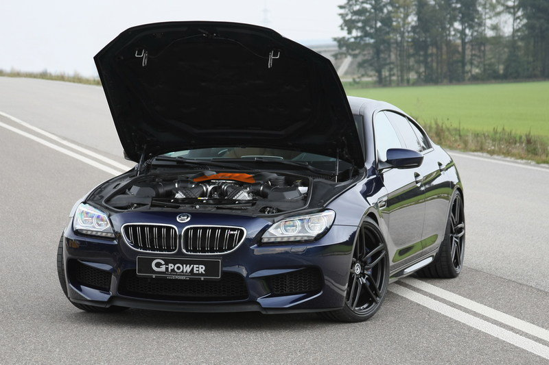 2016 BMW M6 Gran Coupe by G Power High Resolution Drivetrain - image 671577
