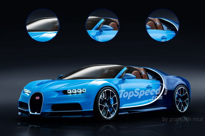 2020 Bugatti Chiron Grand Sport Exterior Exclusive Renderings Computer Renderings and Photoshop - image 671585